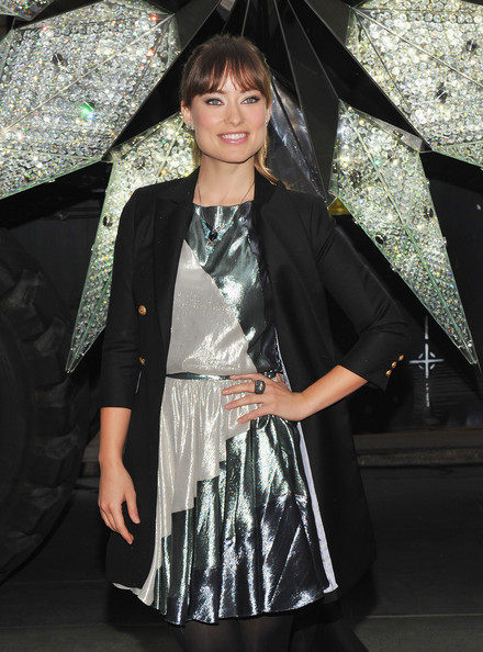 Olivia Wilde Gemstone Statement Necklace