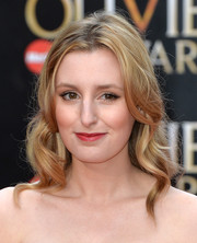Laura Carmichael oozed vintage charm with this wavy 'do at the Olivier Awards.