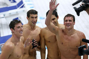 Michael Phelps and Ricky Berens Photo