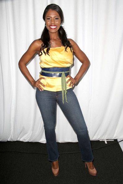 Omarosa Manigault Fitted Blouse