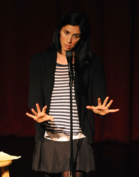 More Pics of Sarah Silverman Lace Up Boots (1 of 7) - Sarah Silverman Lookbook - StyleBistro