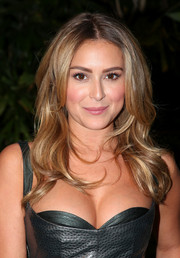 Alexa Vega attended the 'Machete Kills' press conference looking lovely with her face-framing waves.