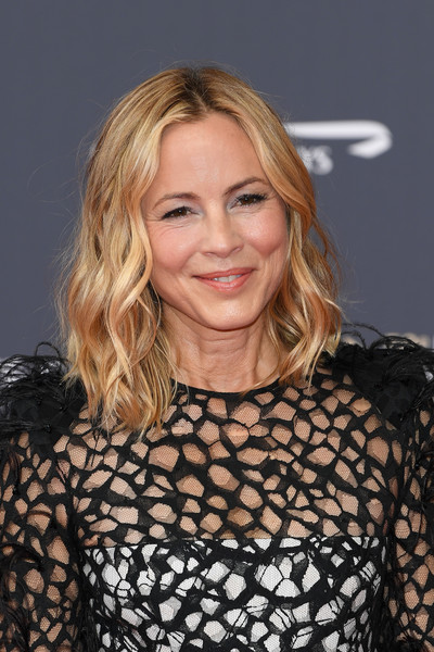 More Pics of Maria Bello Medium Wavy Cut (3 of 3) - Maria Bello Lookbook - StyleBistro [hair,blond,hairstyle,beauty,long hair,layered hair,lip,premiere,brown hair,dress,monte-carlo,monaco,monte carlo tv festival,opening ceremony,opening ceremony,maria bello]