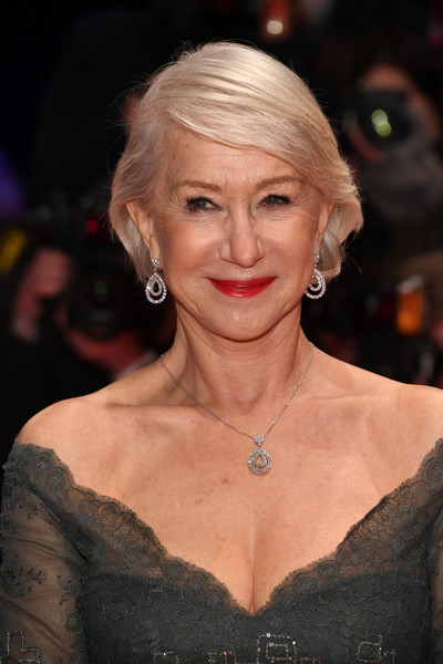 Helen Mirren sported a neat and elegant bob at the Berlinale opening ceremony.