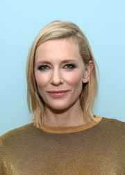 Cate Blanchett topped off her look with a simple bob when she attended the opening of MoMA's Pedro Almodovar retrospective.