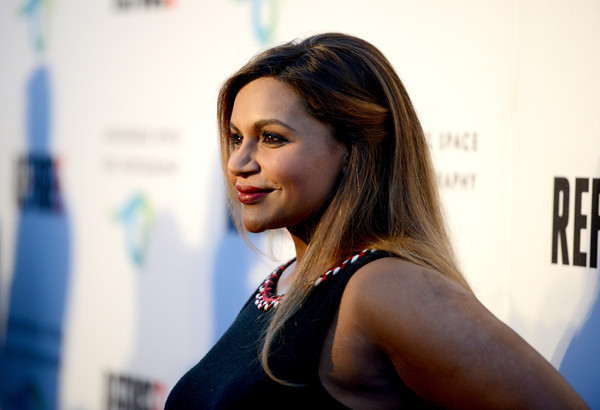More Pics of Mindy Kaling Red Nail Polish (1 of 9) - Mindy Kaling Lookbook - StyleBistro [hair,face,beauty,hairstyle,fashion,lip,model,brown hair,long hair,photography,mindy kaling,annenberg space for photography,century city,california,opening,refugee exhibit,opening]
