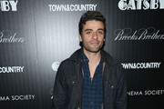 Oscar Isaac Denim Jacket