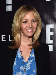 Lisa Kudrow sported a bouncy layered cut at the P.S. Arts party.