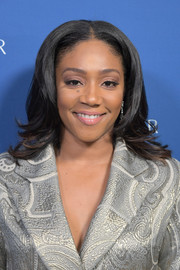 Tiffany Haddish wore a center-parted 'do with flippy ends at the 2018 Incredible Women Gala.
