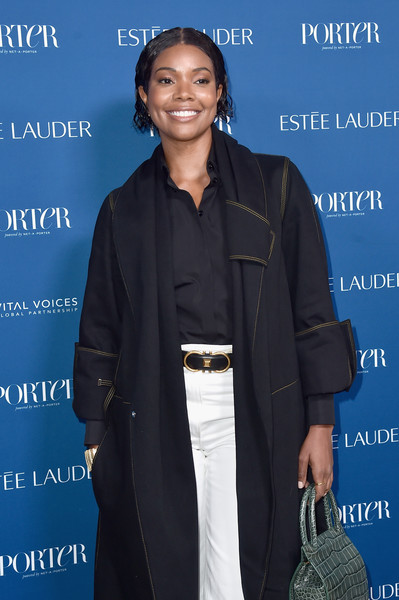 More Pics of Gabrielle Union Combat Boots (1 of 3) - Gabrielle Union Lookbook - StyleBistro [suit,outerwear,event,pantsuit,white-collar worker,premiere,incredible women gala 2018 - arrivals,porter,gabrielle union,los angeles,the ebell,california,third annual incredible women gala]