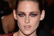 Kristen Stewart attends the 2013 Costume Institute Gala - PUNK: Chaos to Couture at Metropolitan Museum of Art on May 6, 2013 in New York City.
