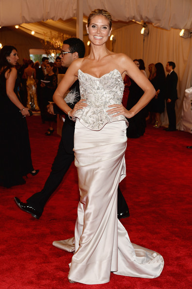 Heidi Klum In Marchesa, 2013