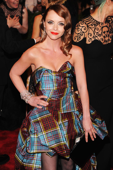 More Pics of Christina Ricci Print Dress (1 of 10) - Christina Ricci Lookbook - StyleBistro