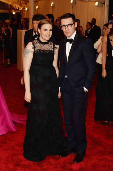 More Pics of Lena Dunham Evening Dress (2 of 3) - Lena Dunham Lookbook - StyleBistro