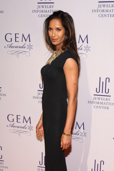 Padma Lakshmi Gold Quartz Watch