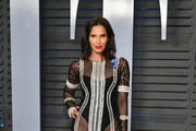 Padma Lakshmi Sheer Dress