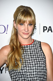 Heather Morris looked youthful and lovely wearing this wavy pony with eye-grazing bangs during PaleyFest LA.