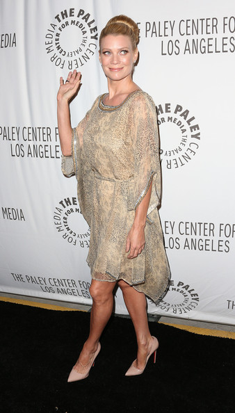 More Pics of Laurie Holden Classic Bun (1 of 10) - Laurie Holden Lookbook - StyleBistro