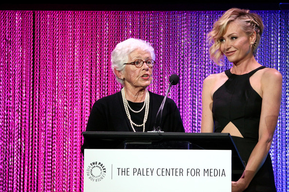 More Pics of Portia de Rossi Short Wavy Cut (1 of 19) - Short Hairstyles Lookbook - StyleBistro [media,event,speech,award,betty degeneres,portia de rossi,author,r,celebrating televisions impact on lgbt equality,impact,los angeles,paley center for media,los angeles gala,gala]