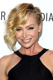 Portia de Rossi rocked short, half-pinned waves at the Paley Center for Media's Los Angeles Gala.