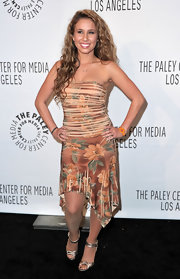 Haley Reinhart rocked this bright yellow wrist watch for the Paleyfest photo shoot.