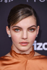 Camren Bicondova wore a classic, elegant bun at the Paley Honors: Celebrating Women in Television event.