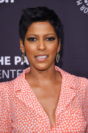 Tamron Hall wore her hair in a boy cut at the Paley Honors: Celebrating Women in Television event.