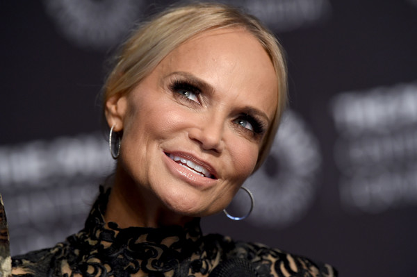 More Pics of Kristin Chenoweth Ponytail (1 of 22) - Kristin Chenoweth Lookbook - StyleBistro [hair,face,eyebrow,facial expression,hairstyle,blond,lip,beauty,nose,chin,kristin chenoweth,conversation - arrivals,conversation,beverly hills,california,the paley center for media,paleylive la presents an evening with kristin chenoweth]