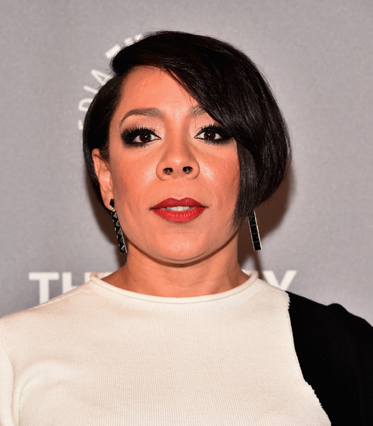 Selenis Leyva topped off her look with this cute bob when she attended the PaleyLive LA 'Orange is the New Black' event.