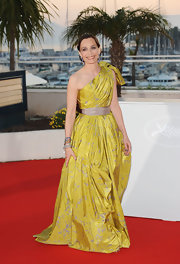 Kristin Showed off her darling figure while hitting the red carpet at Cannes.