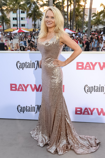 Pamela Anderson Sequin Dress