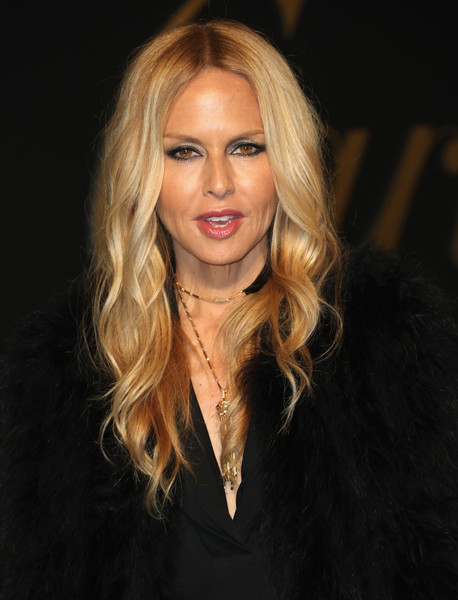 Rachel Zoe was boho-glam, as usual, with her long center-parted waves at the Panthere De Cartier party.