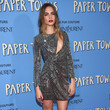 SAINT LAURENT at the 'Paper Towns' Premiere