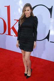 Alicia Silverstone chose a smocked, ruffle-hem LBD by Ulla Johnson for the premiere of 'Book Club.'