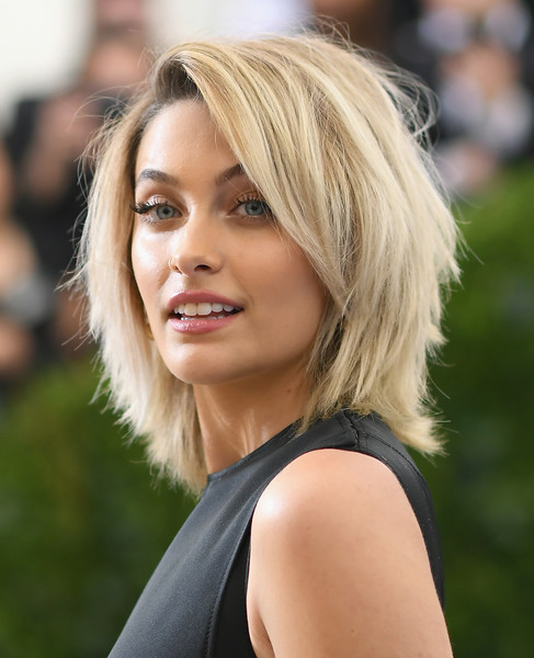 Paris Jackson Shag [rei kawakubo/comme des garcons: art of the in-between,rei kawakubo/comme des garcons: art of the in-between,hair,face,blond,hairstyle,layered hair,eyebrow,beauty,chin,bob cut,lip,costume institute gala - arrivals,paris jackson,new york city,metropolitan museum of art,costume institute gala]