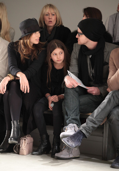 More Pics of Jessica Biel Chaplin Hat (1 of 49) - Jessica Biel Lookbook - StyleBistro