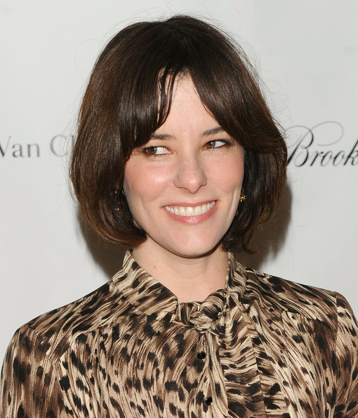 Parker Posey Bob [hair,face,hairstyle,eyebrow,lip,chin,brown hair,beauty,layered hair,bangs,parker posey,red carpet,new york city,the new york academy of art - arrivals,new york academy of art,tribeca ball]