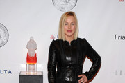 Patricia Arquette Leather Clutch