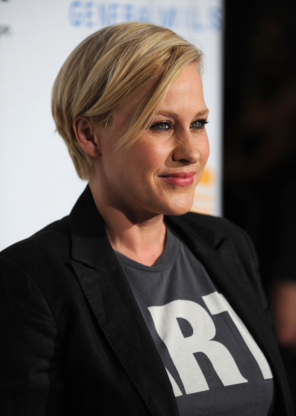 Patricia Arquette Short Side Part