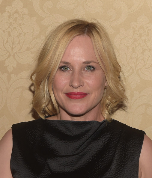 Patricia Arquette Short Wavy Cut [hair,face,blond,hairstyle,lip,eyebrow,chin,shoulder,neck,cheek,arrivals,patricia arquette,primetime emmy awards,west hollywood,california,boa steakhouse,amc,ifc,sundance channel,party]