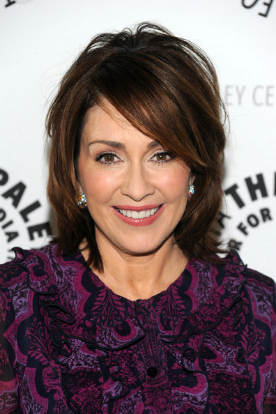 Patricia Heaton Bob [the middle,hair,face,hairstyle,eyebrow,chin,brown hair,layered hair,blond,bangs,forehead,patricia heaton,beverly hills,california,paley center for media presents an evening with]