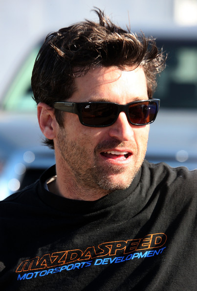 Patrick Dempsey Athletic Shield Sunglasses