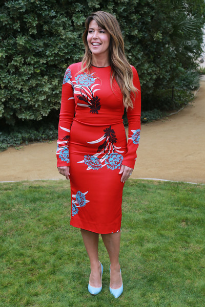 Patty Jenkins Print Dress