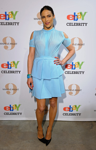 Paula Patton Cutout Dress
