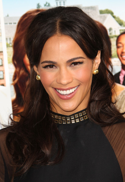 Paula Patton Gold Studs