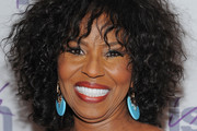 Pauletta Washington Medium Curls with Bangs