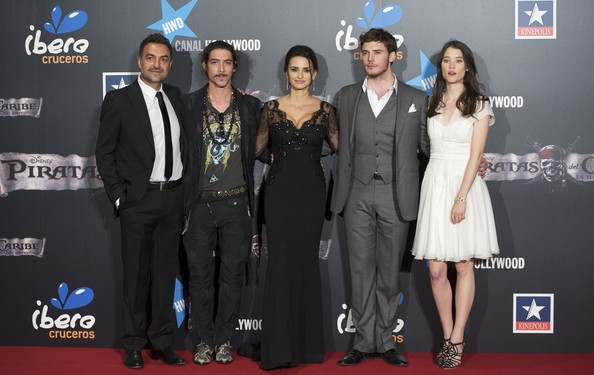 Penelope Cruz attends 'Pirates Of The Caribbean: On Stranger Tides' Premiere in Madrid