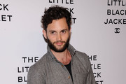 Penn Badgley Fitted Jacket