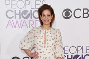 Candace Cameron Bure Beaded Dress