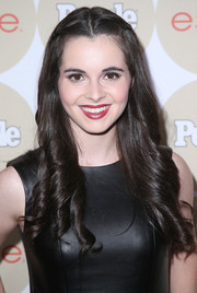 Vanessa Marano channeled Scarlett O'Hara with this long center-parted curly 'do during People's Ones to Watch party.
